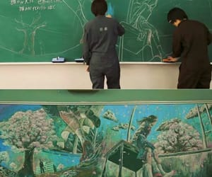 art, school, and drawing image