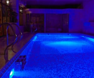 blue, aesthetic, and pool image