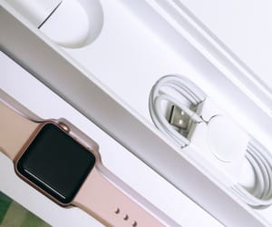 apple, gift, and pink image