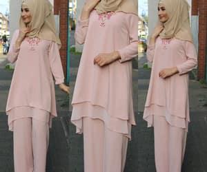 hijab, stylish, and modest clothing image
