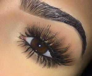 eyes, shadow, and makeup image