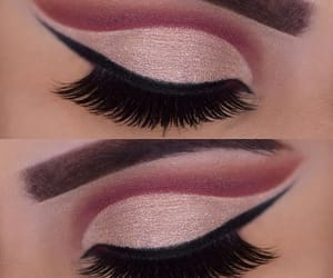 eyes, makeup, and goals image