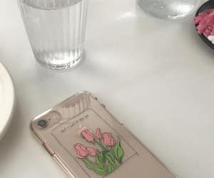 aesthetic, case, and flower image
