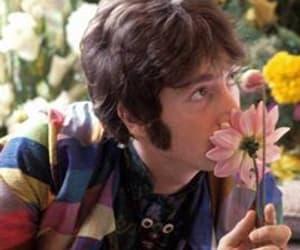 flowers and john lennon image