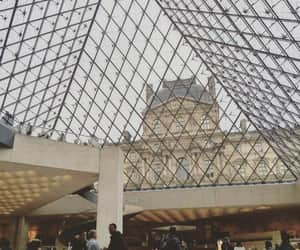 france, louvre, and museum image