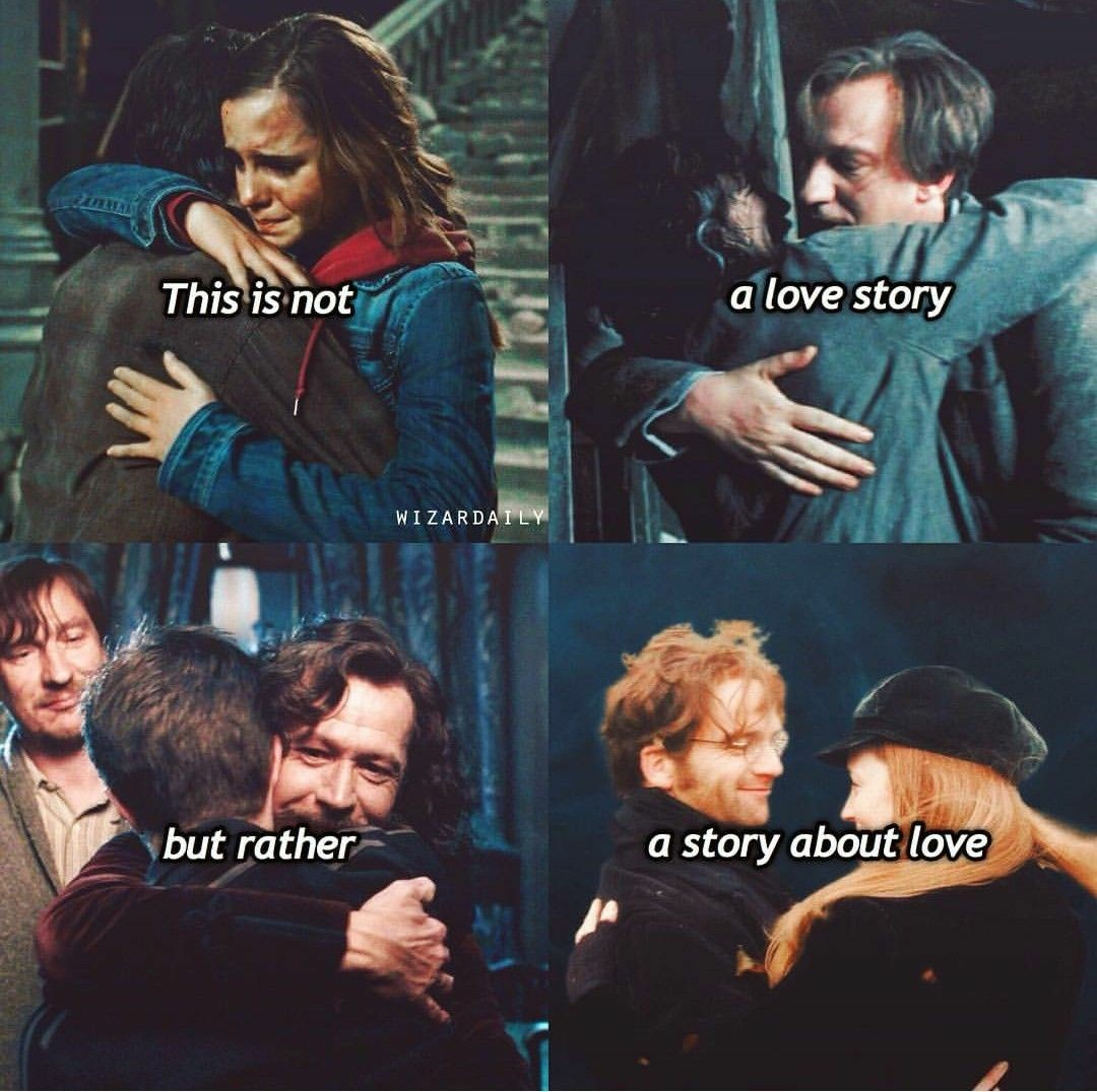 Harry Potter Is Not A Love Story It Is A Story About Love