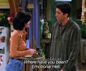 friends, quotes, and hell image