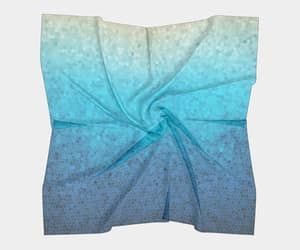 accessories, etsy, and blue scarf image