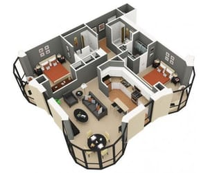 apartment, plans, and planos image