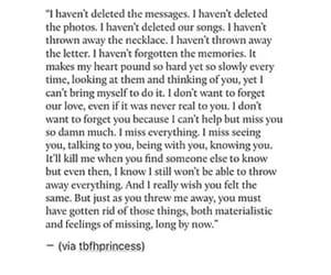 heartbreak, sad, and words image
