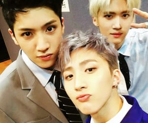 pentagon, hui, and wooseok image