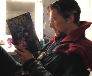 doctor strange, benedict cumberbatch, and Marvel image