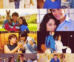 troyella, high school musical, and vanessa hudgens image