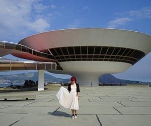 flying saucer building, brazil futurism, and avantgarde art rio image