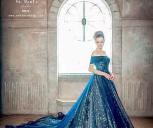 azul, vestidos, and xv años image