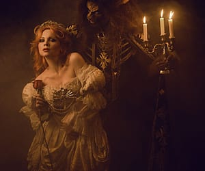 beauty and the beast and belle image