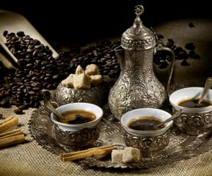 coffee and turkish coffee image