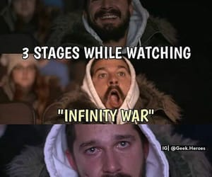 meme and avengers infinity war image