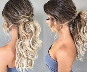 hairstyles, pony, and simple image