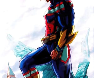 anime, manga, and allmight image