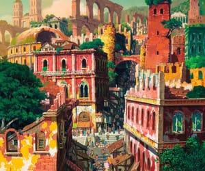 city, sans, and visuals image