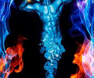 aladino, lámpara, and magia image
