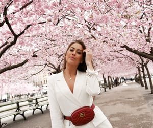 cherryblossom, fashion, and suit image