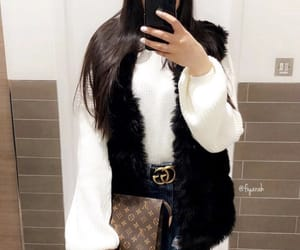 fashion style, louis vuitton lv, and outfit clothes image