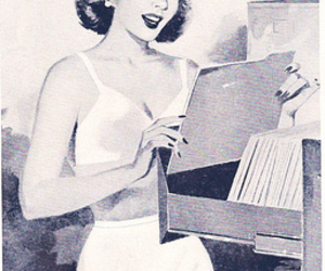 1950's, advertising, and vintage image