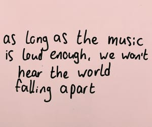 music, quotes, and world image