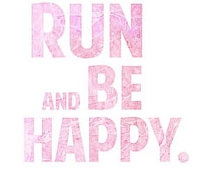 run, happy, and fitness image