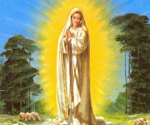 miracle of sun, lady of fatima, and miracle of fatima image