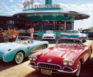 1950s, retro, and vintage image