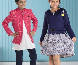 kids collection, trendy and stylish, and gerogeous look image
