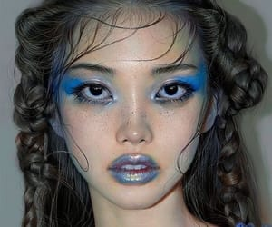 art, beauty, and makeup image