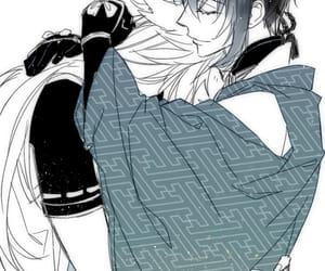 anime, kogitsunemaru x mikazuki, and handsome image
