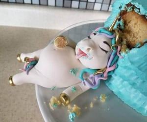 unicorn, cake, and creative image