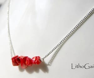 gift for her, birthstone necklace, and minimalist image