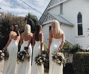 aesthetic, bridesmaids, and clean image