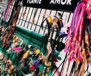 art, hippie, and bracelets image