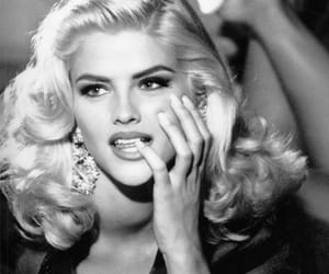 anna nicole smith and vintage image