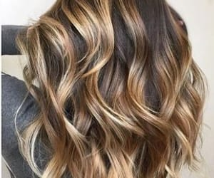hair, beauty, and highlights image