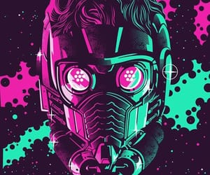 starlord, Marvel, and peter quill image