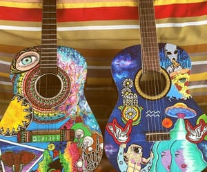 colorful, free, and guitar image