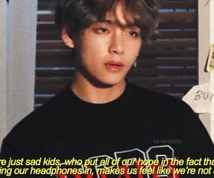 bts, quotes, and v image
