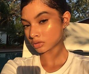 beauty, eyelashes, and girl image