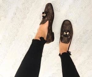Louis Vuitton, LV, and shoes image