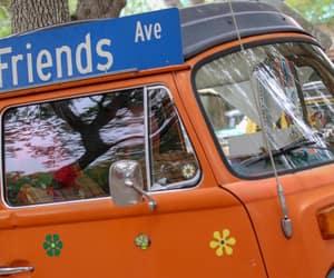 cars, hippie, and orange image