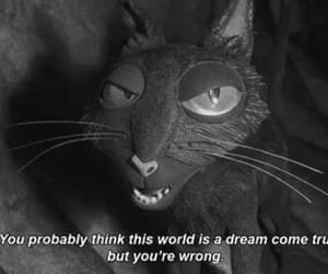 coraline, quotes, and cat image