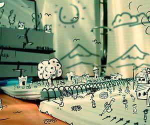 cartoon, creative, and dope image